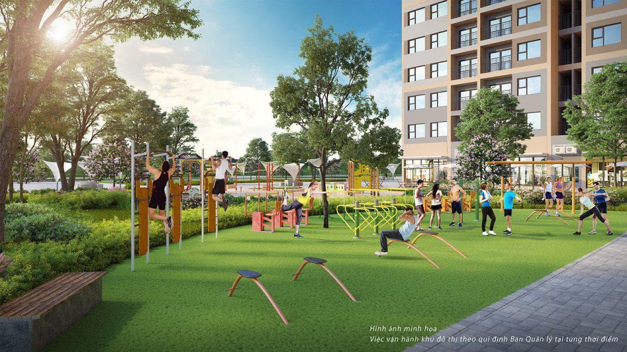 Công viên gym- tiện ích tại dự án Vinhomes Đan Phượng