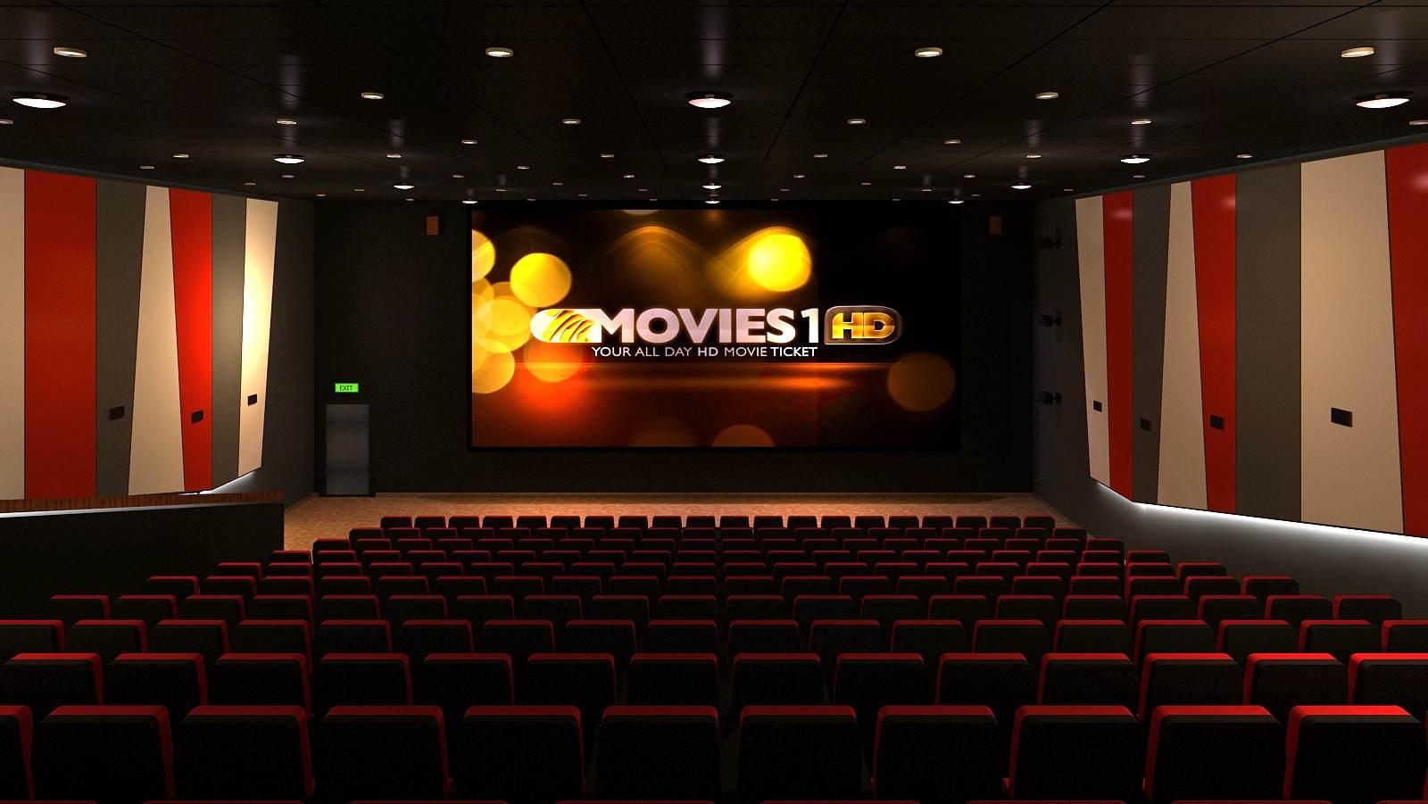 Rạp chiếu phim đẳng cấp. (hình minh hoạ)