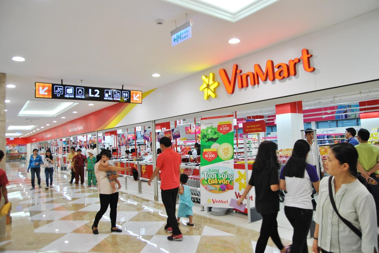 Vinmart đáp ứng mọi nhu cầu thiết yếu của khách hàng. (hình ảnh minh hoạ)