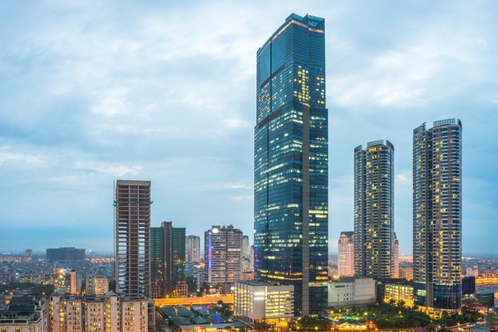 Landmark 72- tòa nhà cao tầng nhất ở Hà Nội