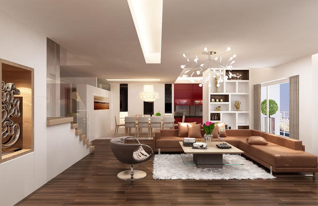 Kinh nghiệm thiết kế phòng khách biệt thự đẹp theo cách riêng